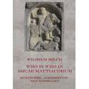 """Wilhelm Milch, Who is who in Aquae Mattiacorum. Römisches """"Adressbuch"""" von Wiesbaden (2011)"""